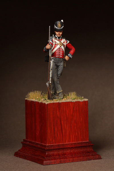 Фигурки: Рядовой 1-ого полка Пешей Гвардии. 1810-15. , фото #2
