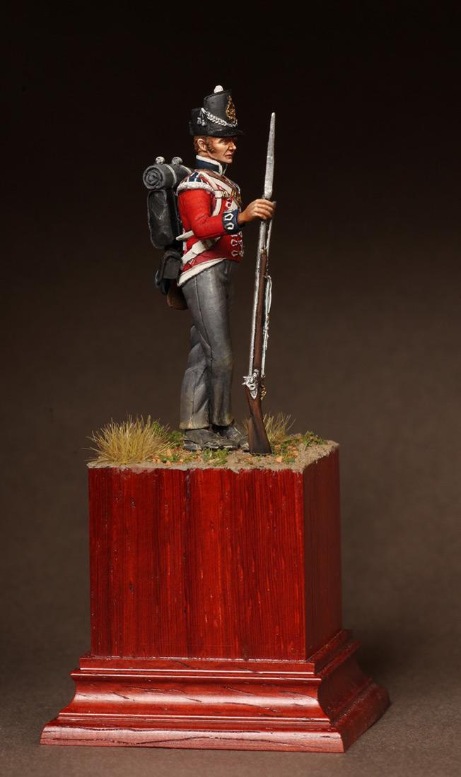Фигурки: Рядовой 1-ого полка Пешей Гвардии. 1810-15. , фото #3