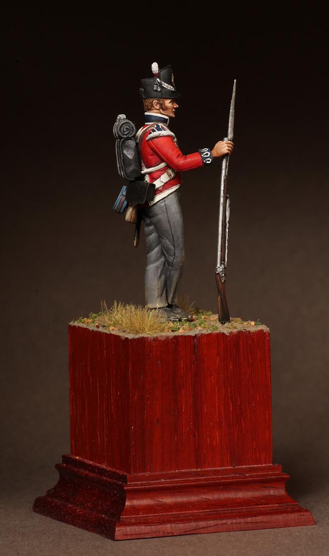 Фигурки: Рядовой 1-ого полка Пешей Гвардии. 1810-15. , фото #4