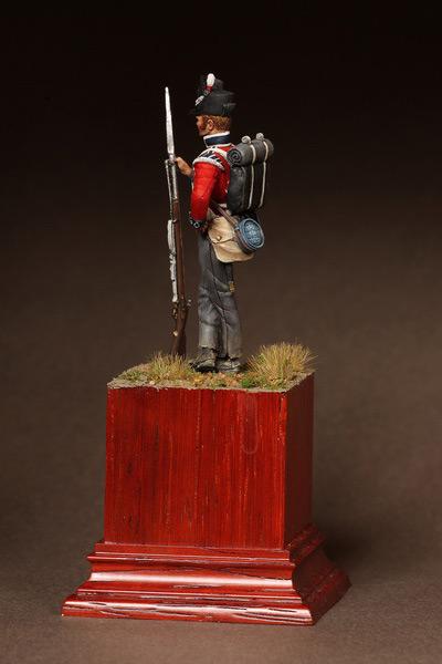 Фигурки: Рядовой 1-ого полка Пешей Гвардии. 1810-15. , фото #7