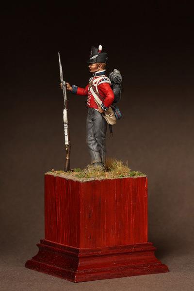 Фигурки: Рядовой 1-ого полка Пешей Гвардии. 1810-15. , фото #8