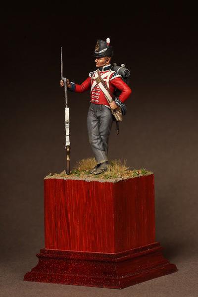 Фигурки: Рядовой 1-ого полка Пешей Гвардии. 1810-15. , фото #9