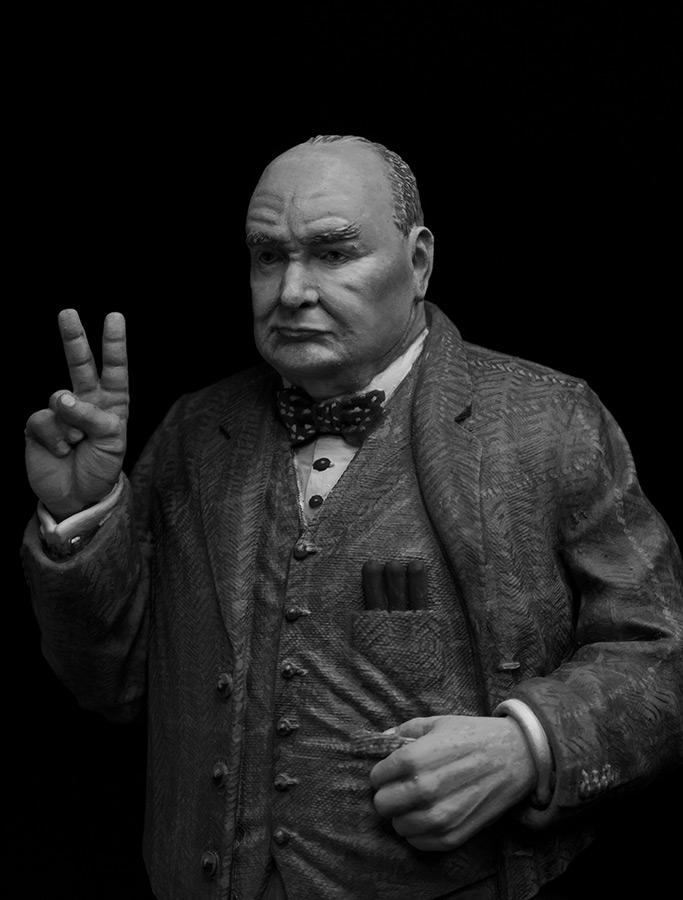 Фигурки: Сэр Уинстон Леонард Спенсер-Черчилль, фото #1