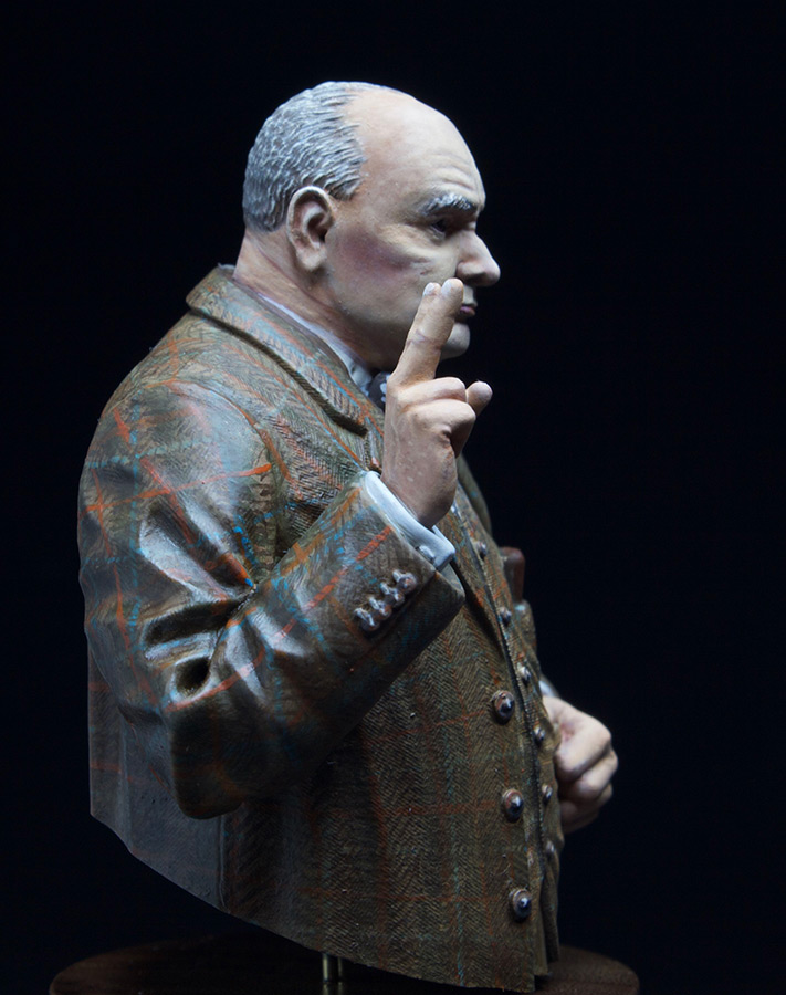 Фигурки: Сэр Уинстон Леонард Спенсер-Черчилль, фото #2