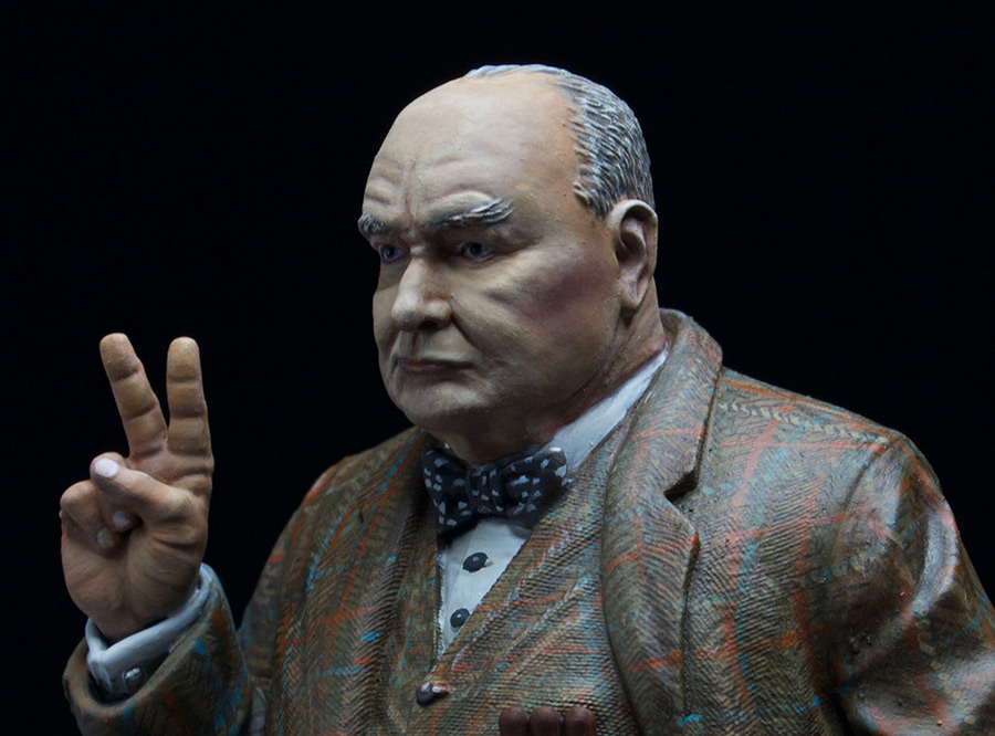 Фигурки: Сэр Уинстон Леонард Спенсер-Черчилль, фото #4