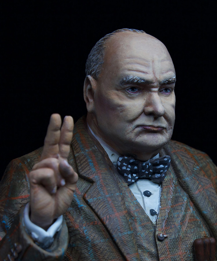 Фигурки: Сэр Уинстон Леонард Спенсер-Черчилль, фото #6