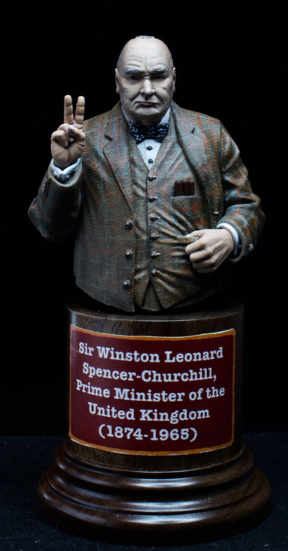 Фигурки: Сэр Уинстон Леонард Спенсер-Черчилль, фото #8