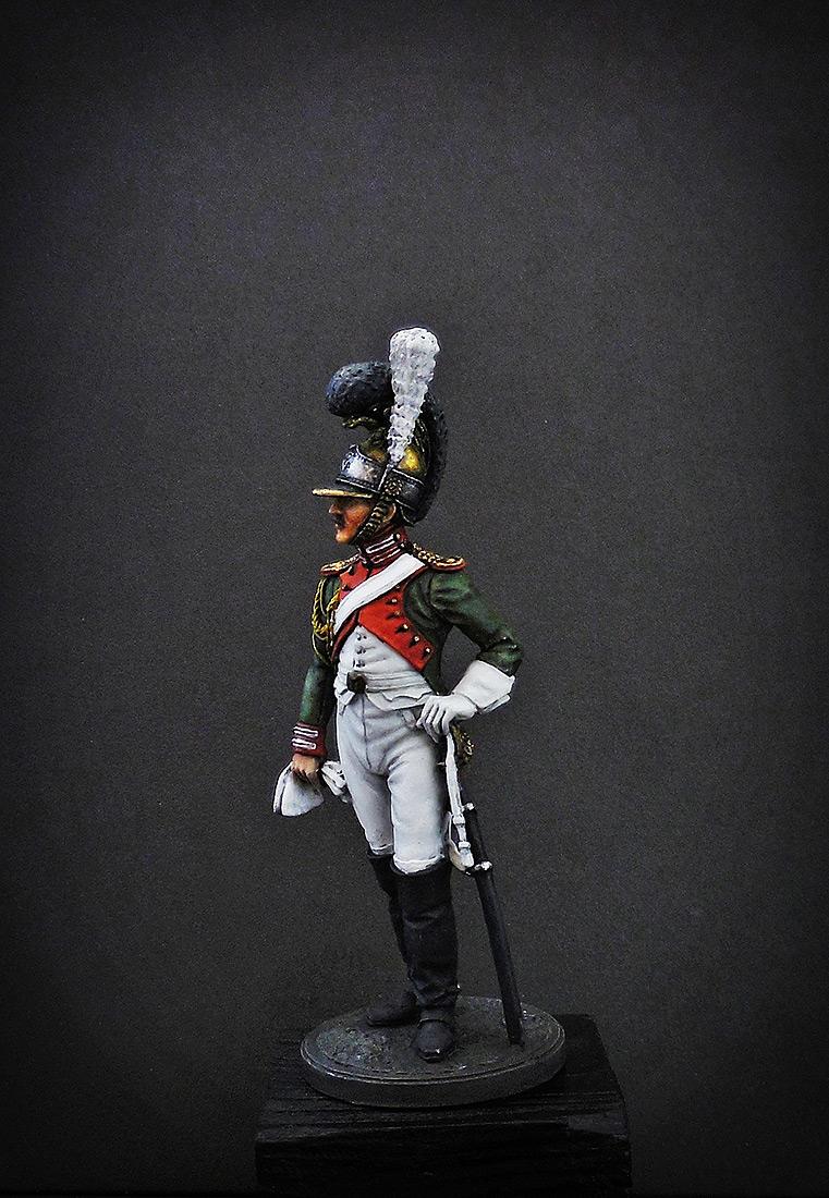 Фигурки: Рядовой Почётной королевской гвардии. Италия, 1811-12 гг., фото #1