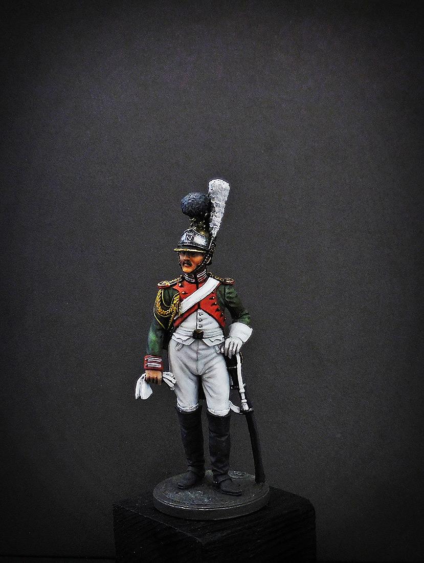 Фигурки: Рядовой Почётной королевской гвардии. Италия, 1811-12 гг., фото #2