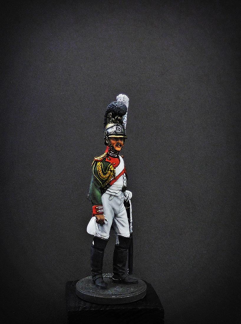 Фигурки: Рядовой Почётной королевской гвардии. Италия, 1811-12 гг., фото #3