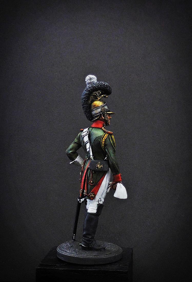 Фигурки: Рядовой Почётной королевской гвардии. Италия, 1811-12 гг., фото #4