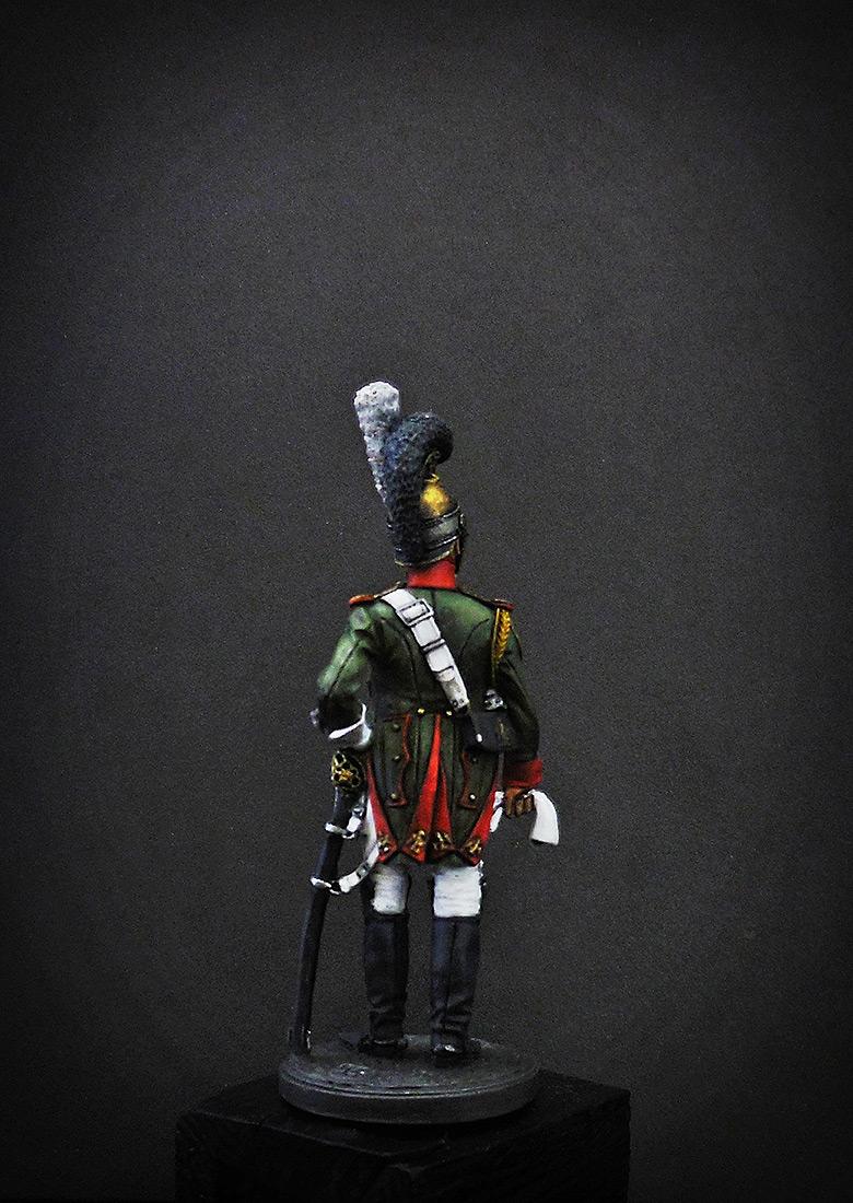 Фигурки: Рядовой Почётной королевской гвардии. Италия, 1811-12 гг., фото #5