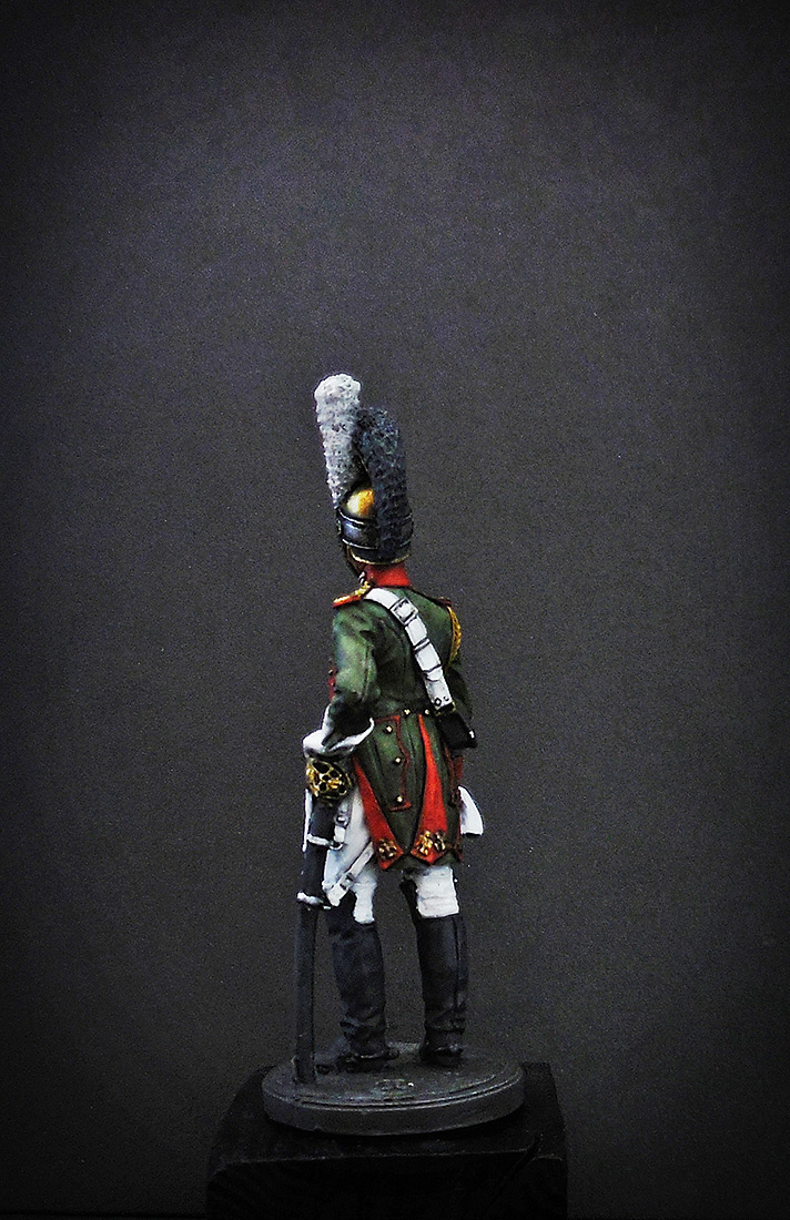 Фигурки: Рядовой Почётной королевской гвардии. Италия, 1811-12 гг., фото #6
