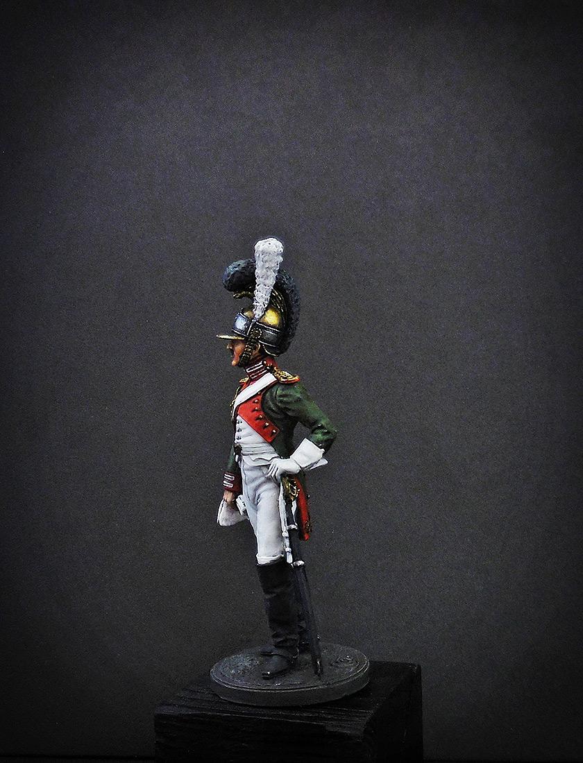 Фигурки: Рядовой Почётной королевской гвардии. Италия, 1811-12 гг., фото #7