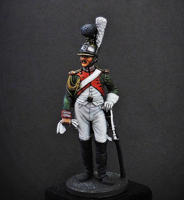 Фигурки: Рядовой Почётной королевской гвардии. Италия, 1811-12 гг.