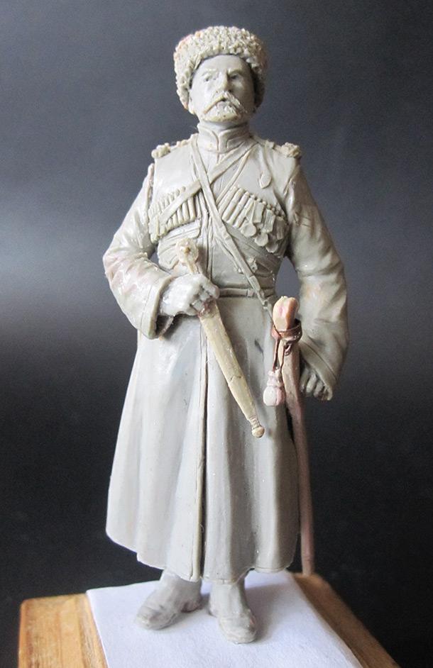 Скульптура: Урядник конвоя, 1913 г.