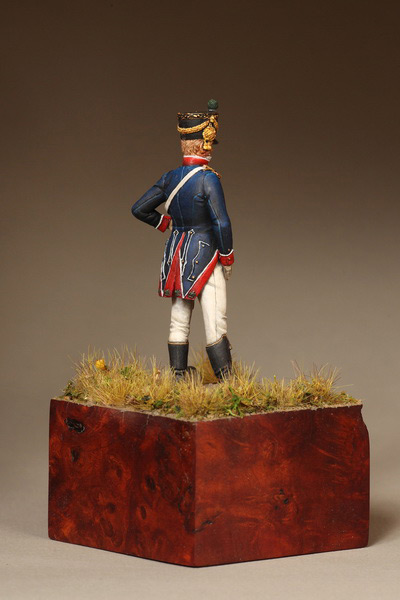 Фигурки: Лейтенант Тиральер-Шассер Молодой Гвардии. Франция. 1812 г., фото #6