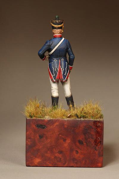 Фигурки: Лейтенант Тиральер-Шассер Молодой Гвардии. Франция. 1812 г., фото #8