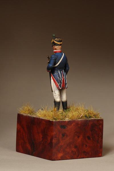 Фигурки: Лейтенант Тиральер-Шассер Молодой Гвардии. Франция. 1812 г., фото #9