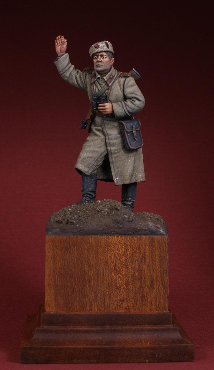 Фигурки: Командир орудия. 1943-45 гг, фото #1