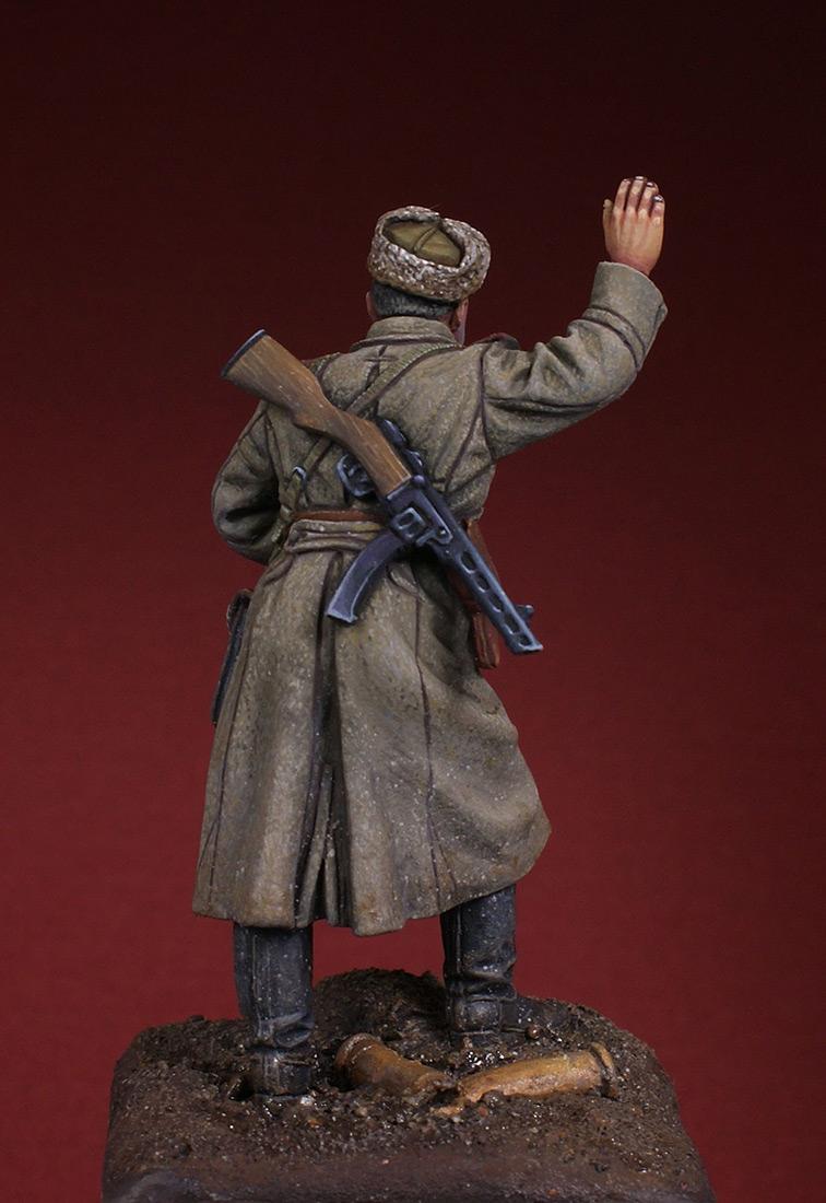 Фигурки: Командир орудия. 1943-45 гг, фото #4