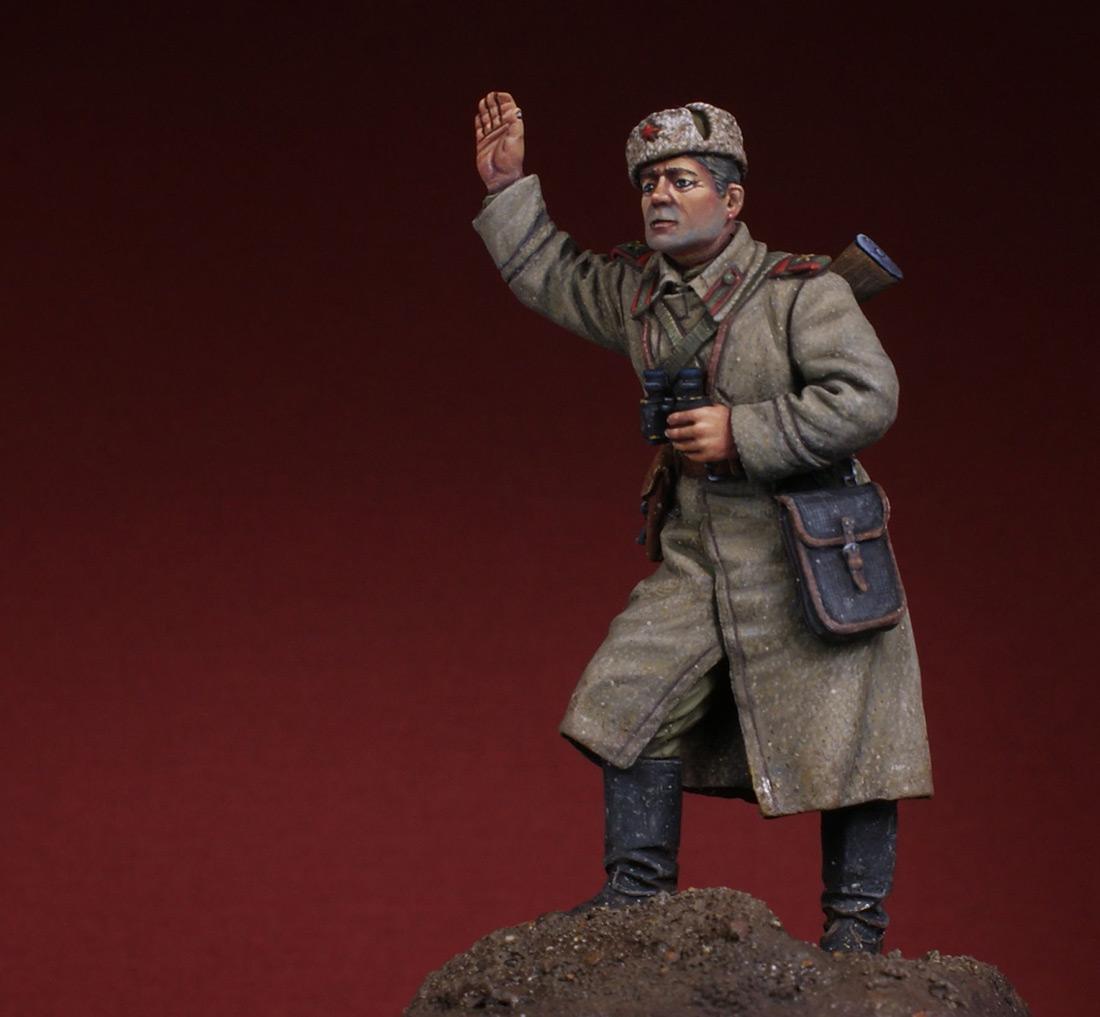 Фигурки: Командир орудия. 1943-45 гг, фото #6
