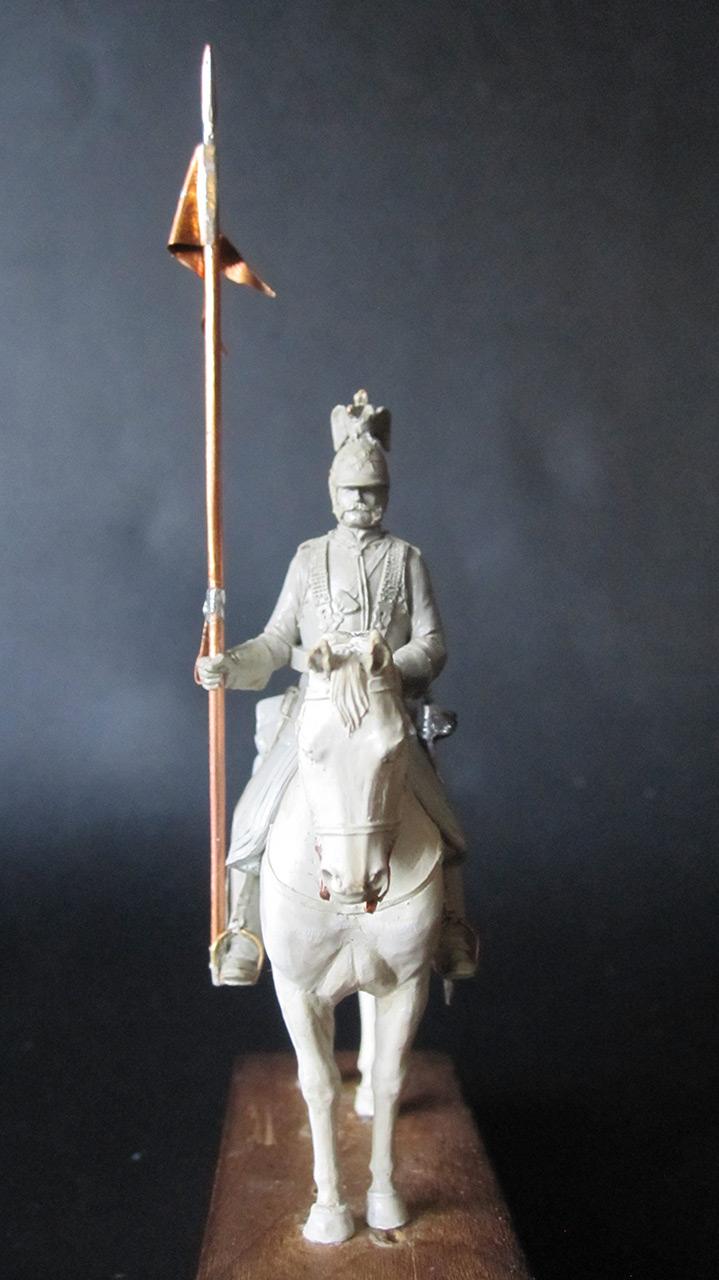 Скульптура: Кирасир, 1870 г., фото #1