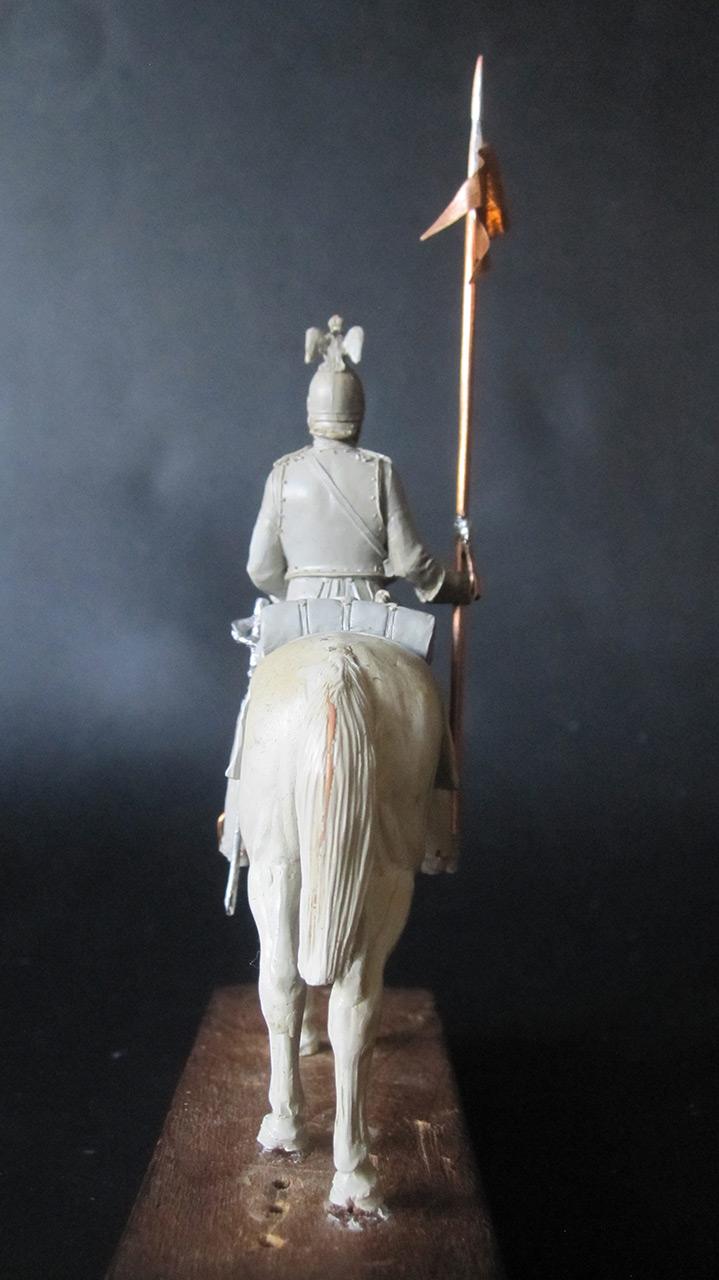 Скульптура: Кирасир, 1870 г., фото #2