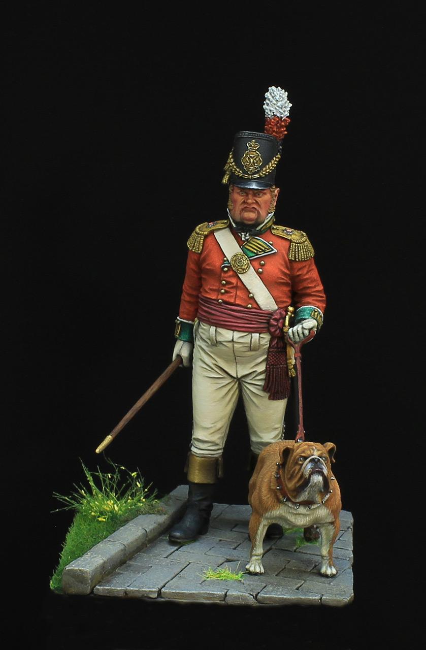 Фигурки: Британский пехотный офицер, фото #1