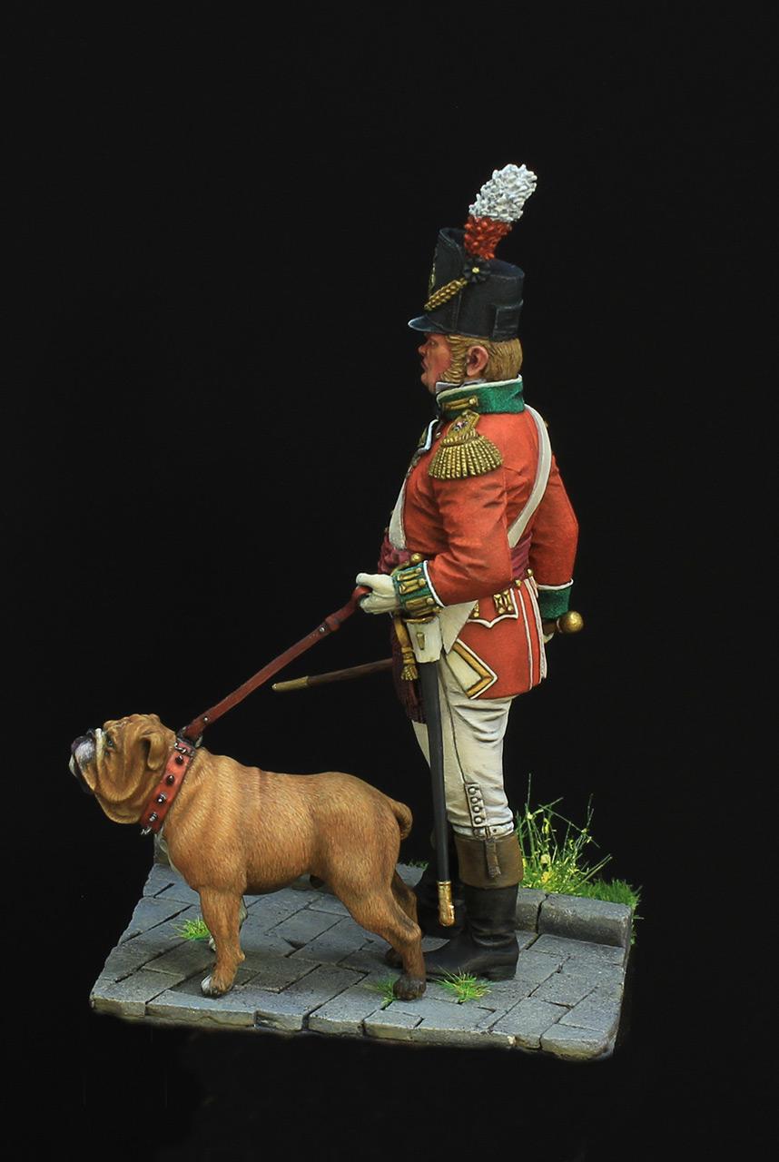 Фигурки: Британский пехотный офицер, фото #3