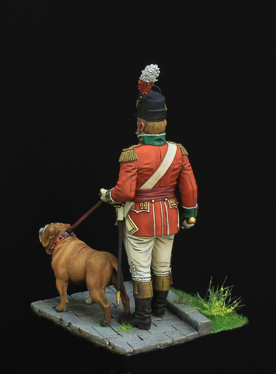 Фигурки: Британский пехотный офицер, фото #4