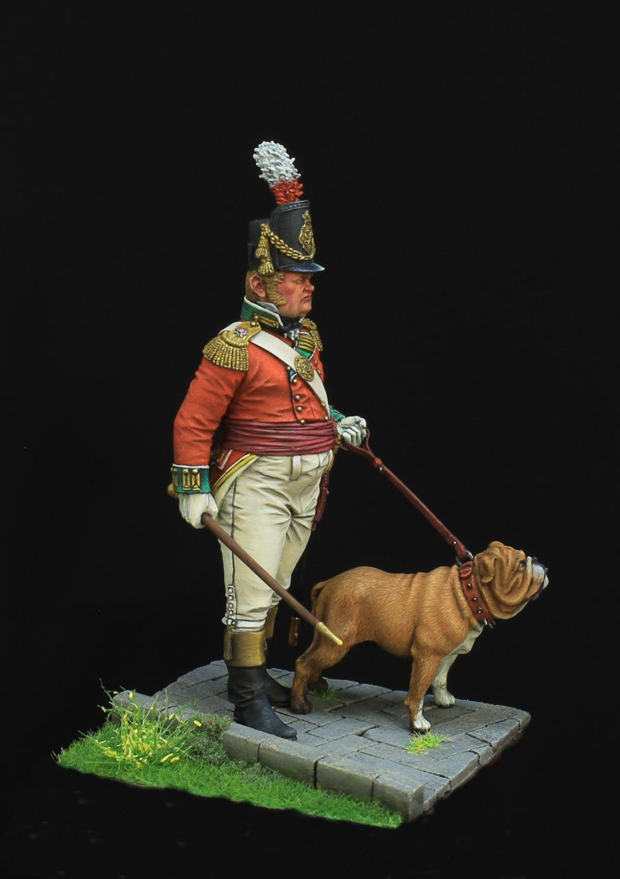 Фигурки: Британский пехотный офицер, фото #6
