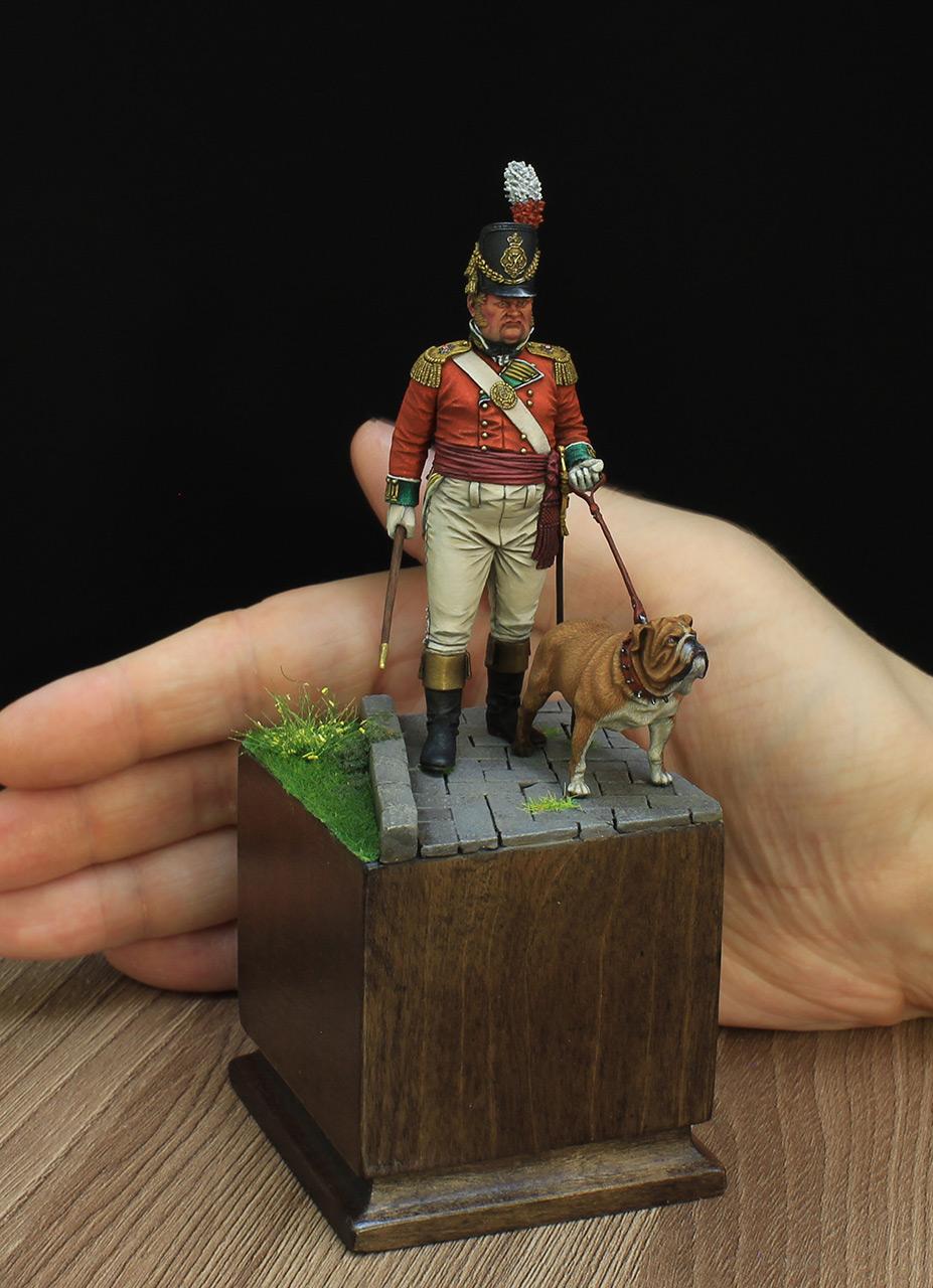 Фигурки: Британский пехотный офицер, фото #7