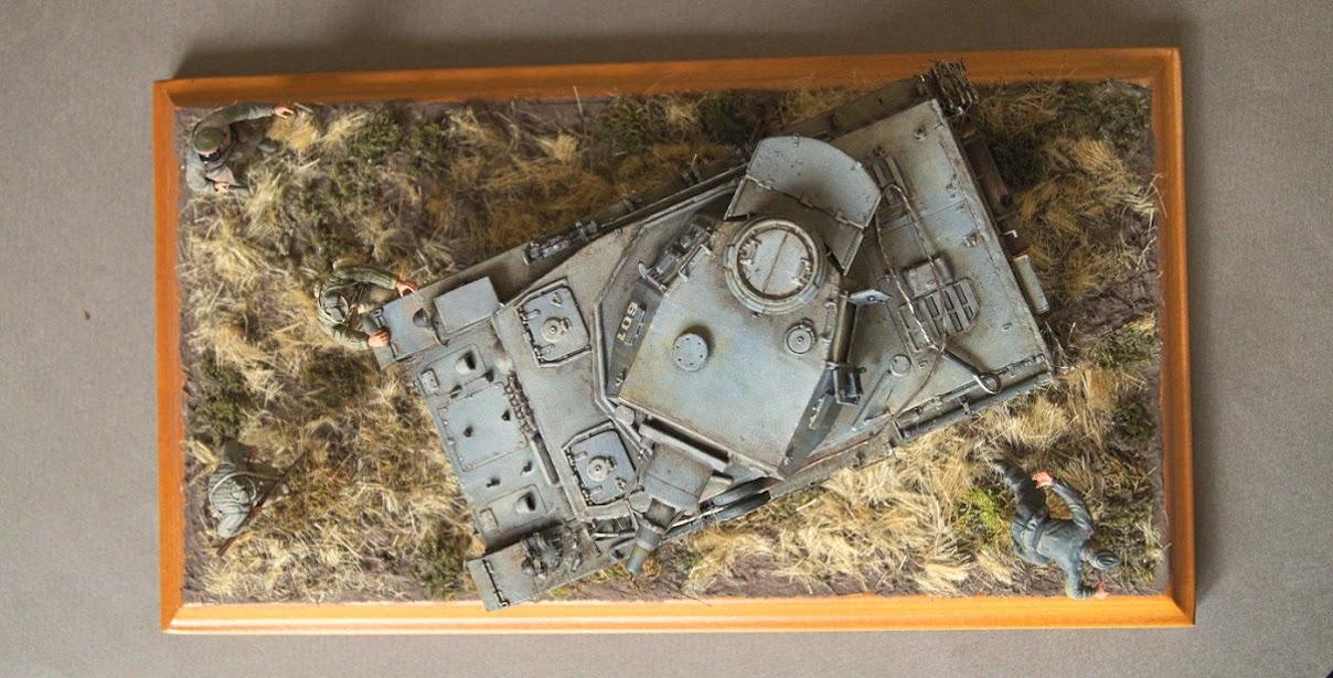 Диорамы и виньетки: Трофейный Pz-IV Ausf.F1, фото #10