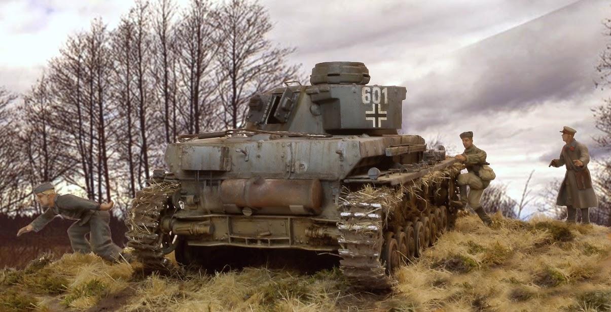 Диорамы и виньетки: Трофейный Pz-IV Ausf.F1, фото #5