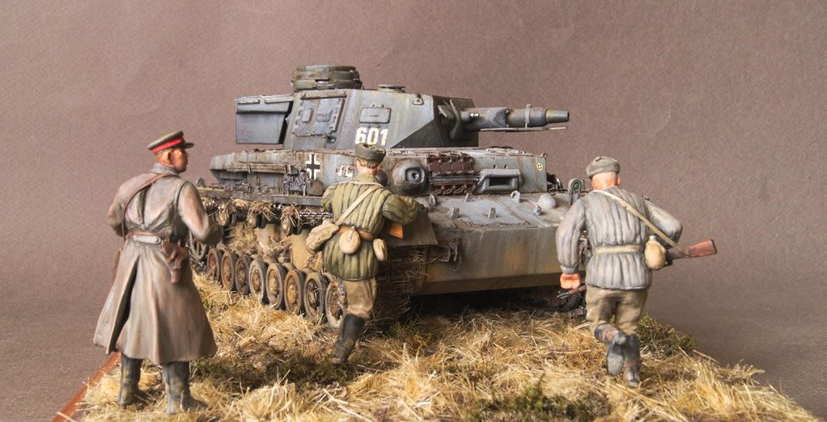 Диорамы и виньетки: Трофейный Pz-IV Ausf.F1, фото #6