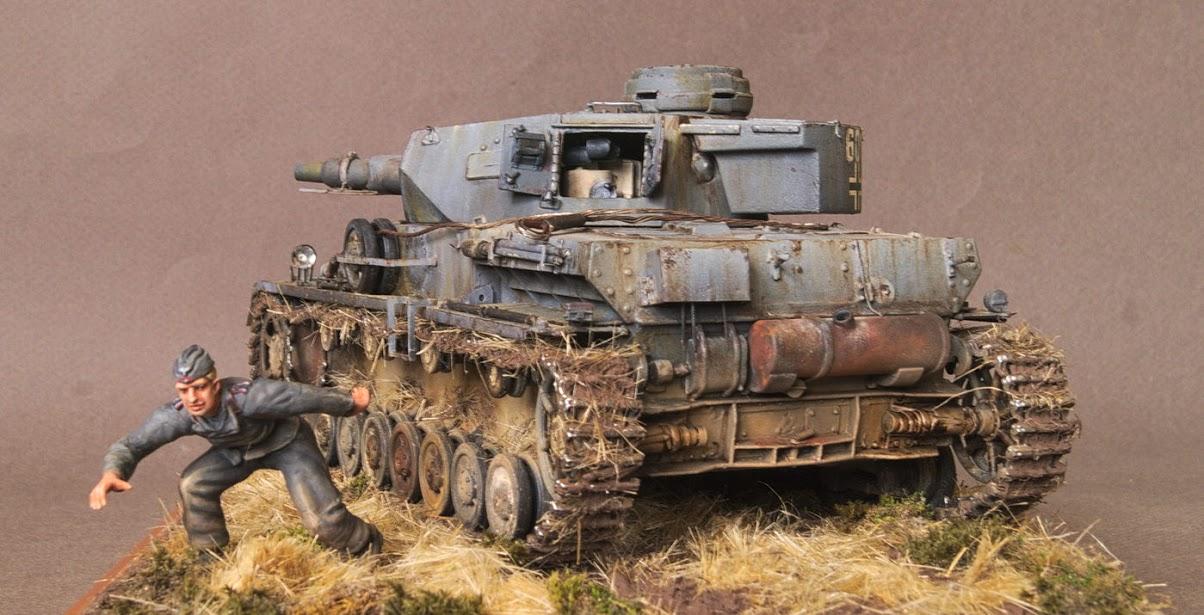 Диорамы и виньетки: Трофейный Pz-IV Ausf.F1, фото #7