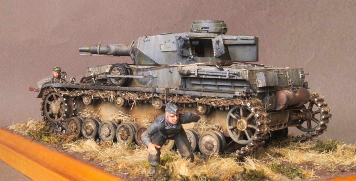 Диорамы и виньетки: Трофейный Pz-IV Ausf.F1, фото #8