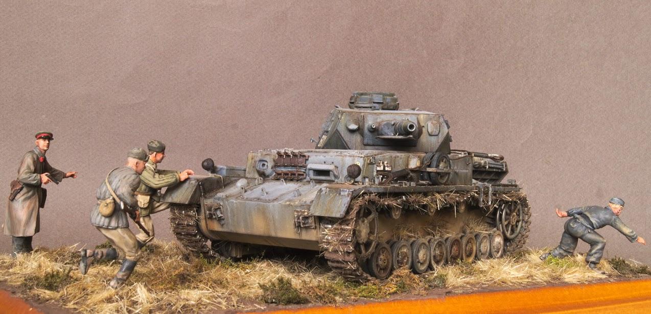 Диорамы и виньетки: Трофейный Pz-IV Ausf.F1, фото #9
