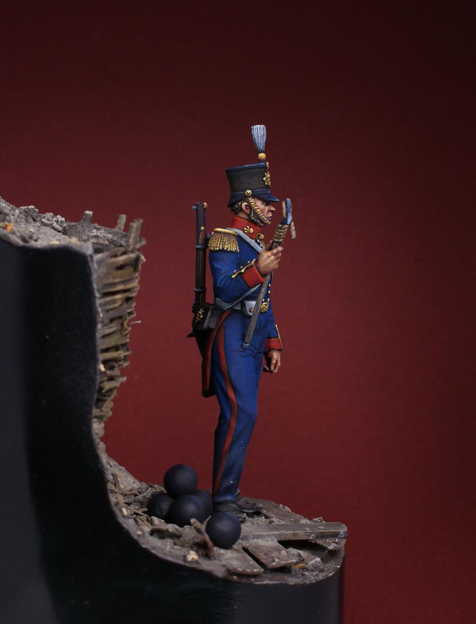 Фигурки: Британский артиллерист, 1854-56, фото #3