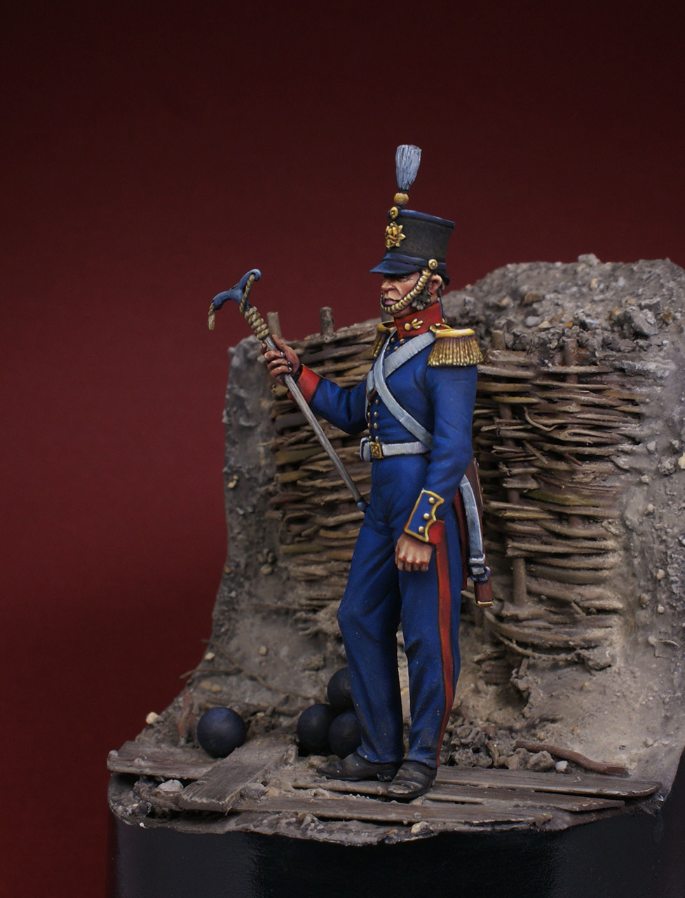 Фигурки: Британский артиллерист, 1854-56, фото #4