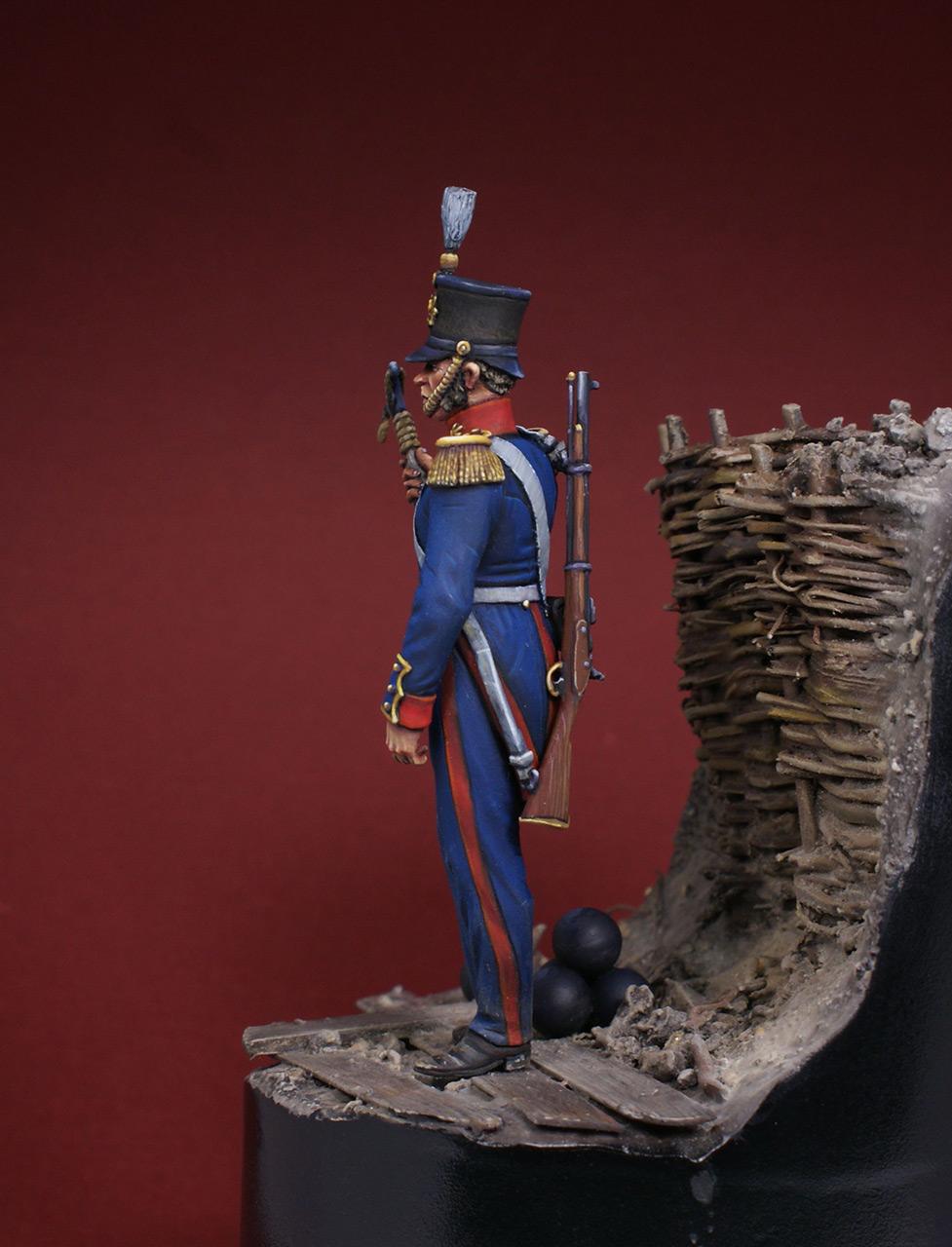 Фигурки: Британский артиллерист, 1854-56, фото #5