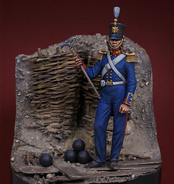 Фигурки: Британский артиллерист, 1854-56