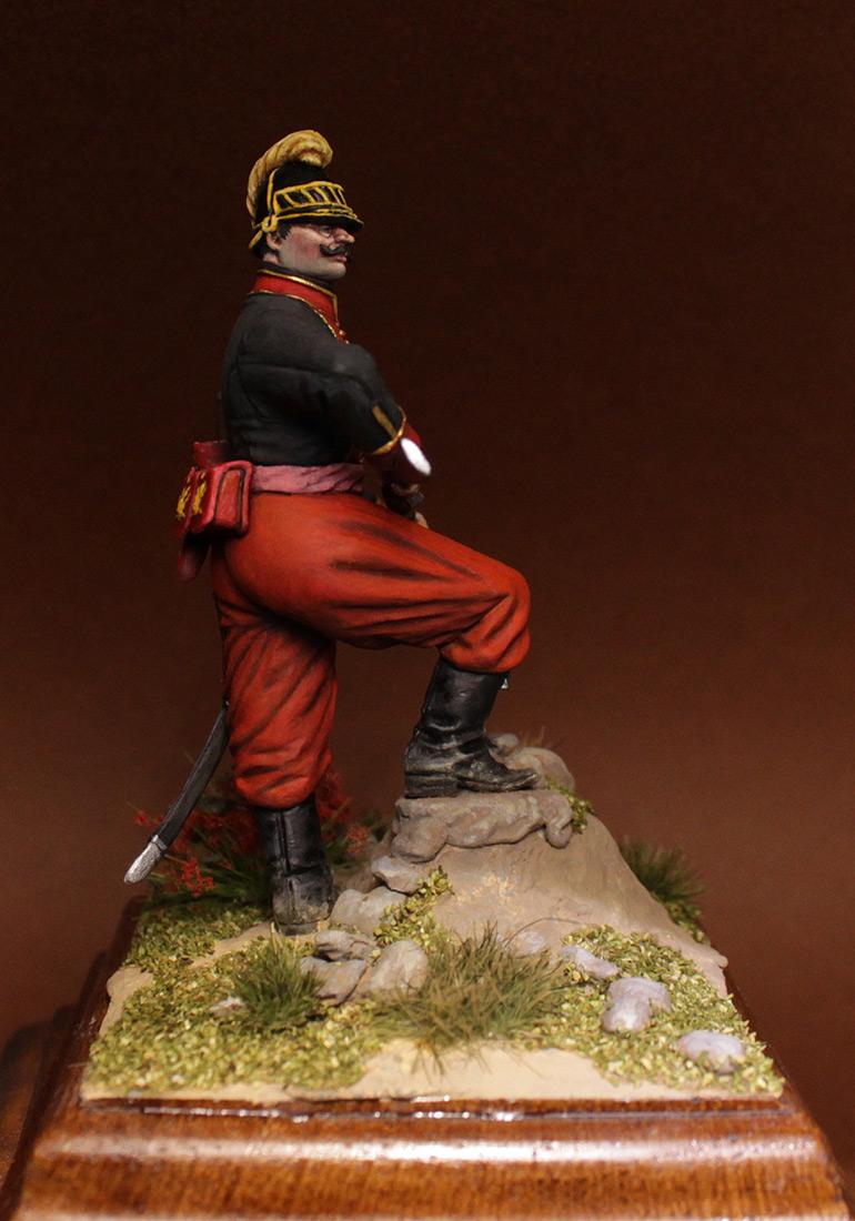 Фигурки: Унтер-офицер 1-го батальона Греческого пехотного полка, 1779-1796 гг., фото #4