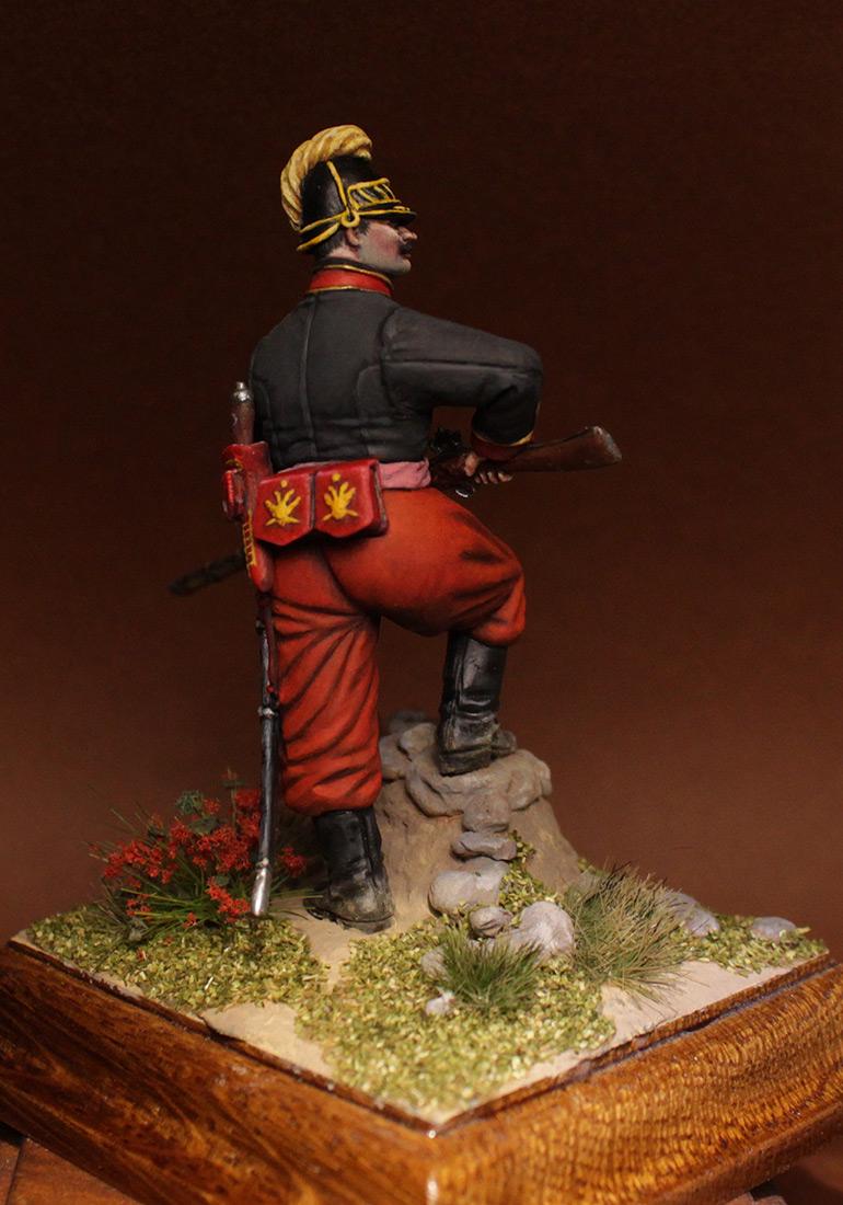Фигурки: Унтер-офицер 1-го батальона Греческого пехотного полка, 1779-1796 гг., фото #5