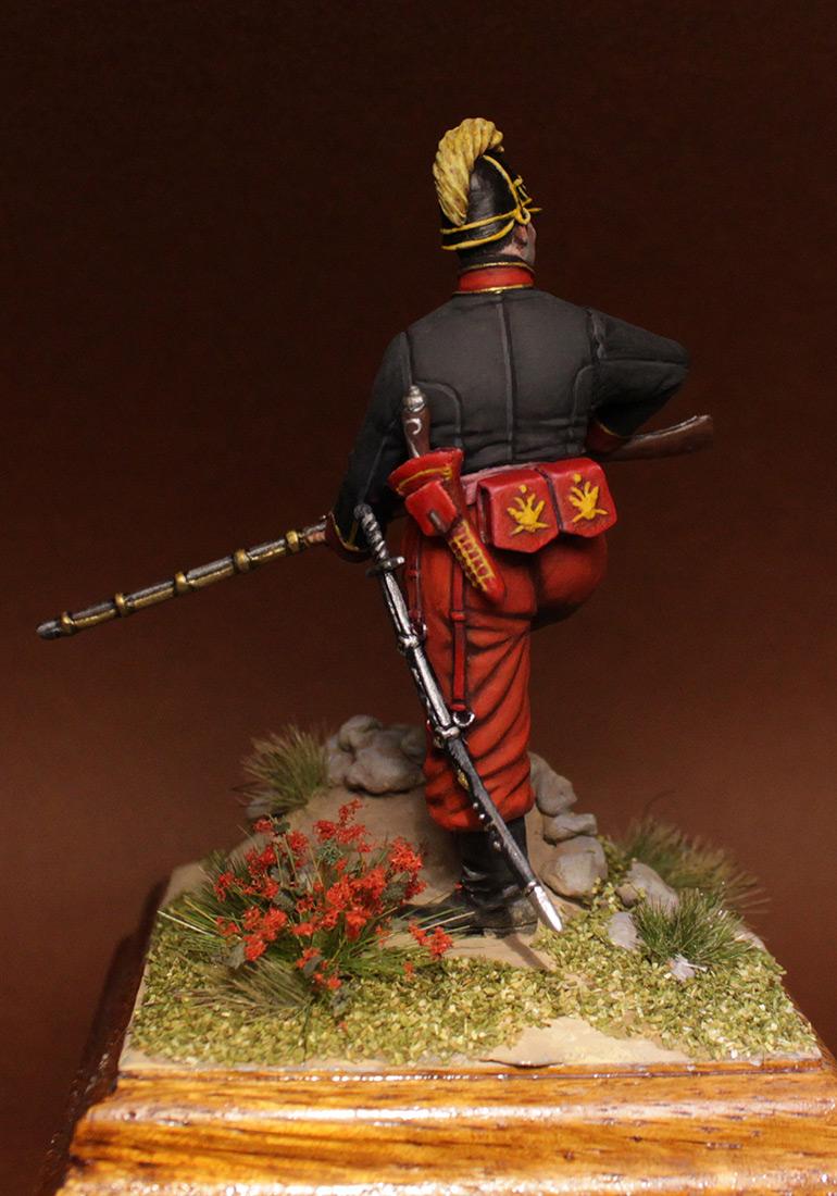 Фигурки: Унтер-офицер 1-го батальона Греческого пехотного полка, 1779-1796 гг., фото #6