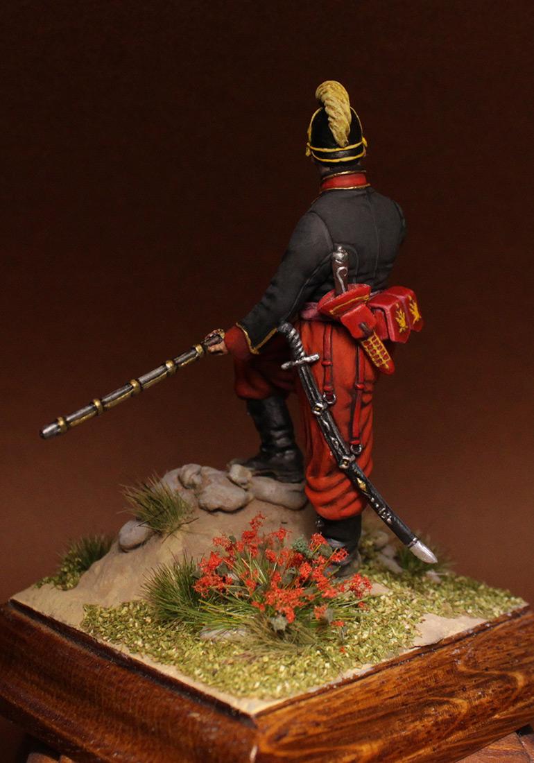 Фигурки: Унтер-офицер 1-го батальона Греческого пехотного полка, 1779-1796 гг., фото #7