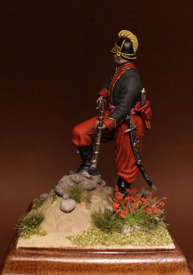 Фигурки: Унтер-офицер 1-го батальона Греческого пехотного полка, 1779-1796 гг., фото #8