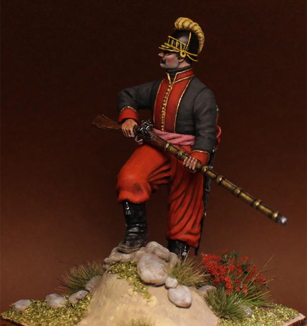 Фигурки: Унтер-офицер 1-го батальона Греческого пехотного полка, 1779-1796 гг.