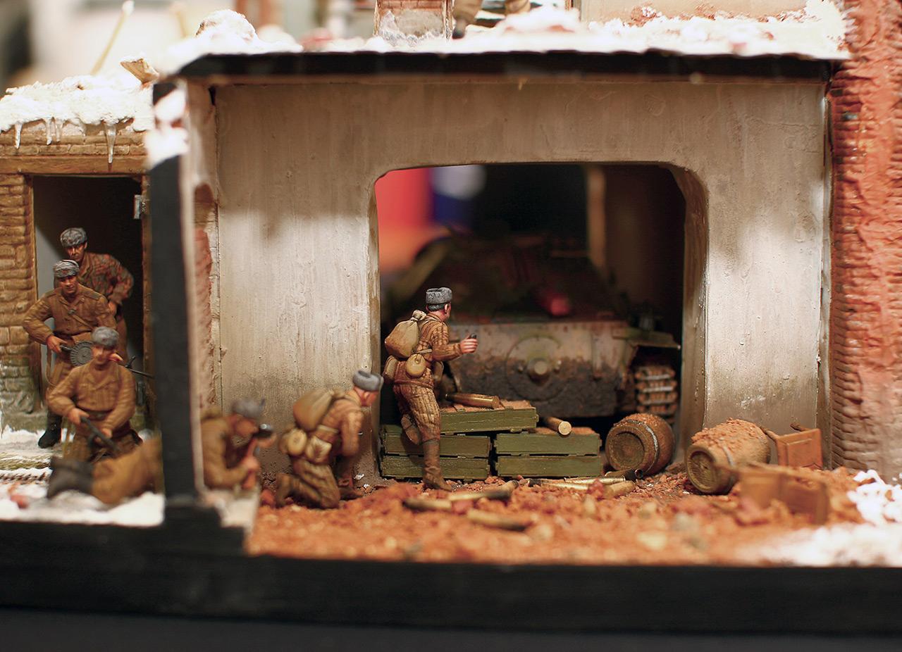 Диорамы и виньетки: Осиное гнездо, фото #17